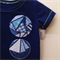 Size 0 Boys navy Appliqued Tshirt  