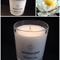 Water Lily Soy Candle - hand poured, 33 hours