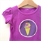 Size 00 Girls Icecream Appliqued Tshirt  