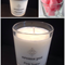 Pink Sugar Soy Candle - hand poured, 33 hour burn time
