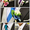 Beautiful Wedding Buttonholes (Artificial Foam Roses) with Jip and Pin
