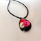 Resin button Necklace