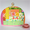 Quilted Patchwork Tea Cosy  - Secret Golden Squirrel of random awesomeness!