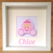 Princess Carriage Personalised 3D Frame