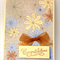Congratulations Card - Cream