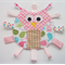 Cute owl taggie (various patterns to choose from)