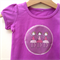 Size 00 Girls ballerina Appliqued Tshirt  