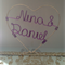 Personalised Wire Cake Topper - Ideal for Weddings / Showers / Party's!
