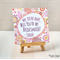 Will You Be My Bridesmaid Half Fold Greeting Card (14821)