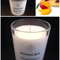 Mango Papaya Soy Candle - hand poured, 33 hour burn time
