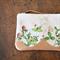 Clover field - zipper purse pouch