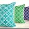 'Moroccan' Cushion Cover, hand screenprinted, 100% Linen, off white, glitter