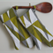 Recycled.  Lime slice.  Long oven gloves