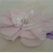 Baby's Headband - Pale Pink/Diamante