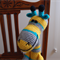 Griffin: Hand crocheted Giraffe by CuddleCorner: Soft, OOAK, Washable