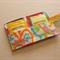 Fluoro Abstract Tea Wallet - Holds 4 Teas - Fluoro pattern with pink pocket