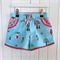 Sassy Shorts by Twinkle Star (Red Riding Hood) ~ 1-5 Aqua, Pink, Red