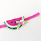 Watermelon Headband - Pink Green - Glitter - Velvet