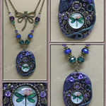 Boutique 'Polymer Clay' Necklace
