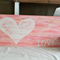 Reclaimed Recycled Timber Wood Wall Sign Love Heart Shabby Industrial Chic JDog