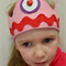 Pink Felt Play Crown