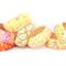 Clearance sale Fabric Bangles, bracelet.Choose a fabric.Orange Green Xmas gift!