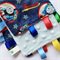 THOMAS THE TANK Baby Security Blanket Blankie Taggie Toy