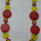 Bright and Funky Resin Necklace