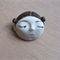 Little head Face Handmade Porcelain Ceramic Brooch