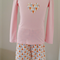 Girls organic cotton Flannel Fanfare Pyjamas
