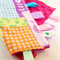 CUTE ZOO ~ Baby Security Blanket Blankie Taggie Toy +FREE Taggie Saver