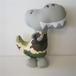 Fabric Dinosaur  Softie