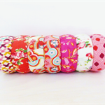 Clearance sale Fabric Bangles, bracelet.Choose a fabric.Pink & Red