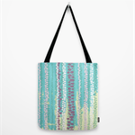 Tote Bag - 'Elemental Raindrops' by NYTF
