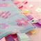 SPRING FLOWERS Baby Security Blanket Blankie Taggie Toy
