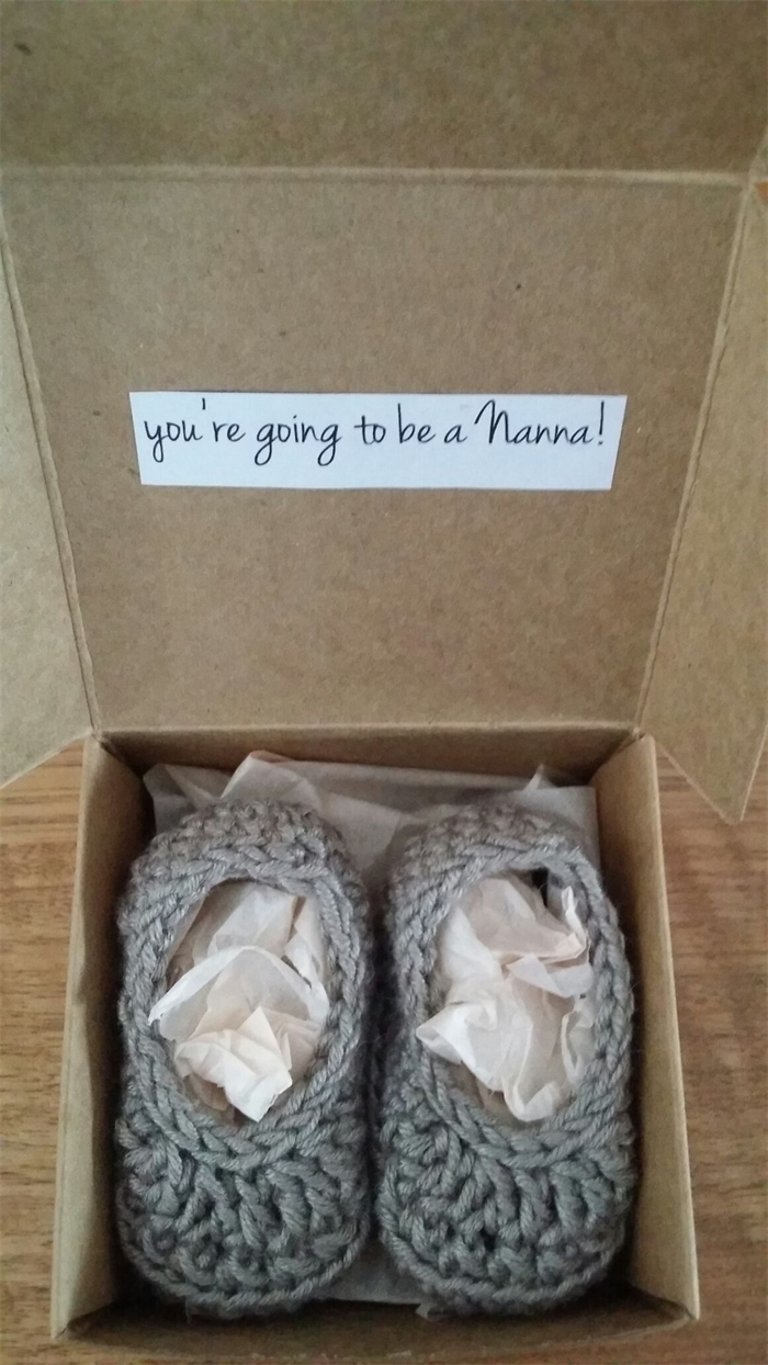Baby Gift Announcement : Baby announcement gift boxes oh madeit