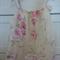 Ivory full bloom pillowcase dress sz 3
