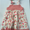 Size 5 Girl's pinafore dress Pretty in Pink