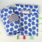 Nappy Diaper Change Mat with Nappy Wallet and Tag Blankie Purple Apples