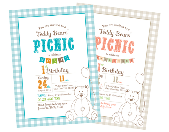 Printable Custom Birthday Party Invitation Template