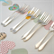 Choose your stamping - Hand stamped vintage cake forks