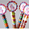 Rainbow Unicorn Lolly Tube Party Favour