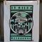 Retro Turquoise St Kilda Tea Towel