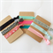 3 cards of Fold over elastic hair ties