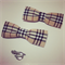 Choice of 1 x Boys Bow Tie with Clip and Pin