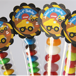 8 Pack Construction Truck Lolly Tube Birthday Party Favours #LT0022