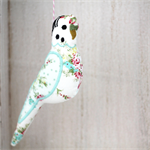 Minty Rose Hanging Budgie