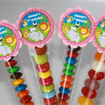 8 Pack Jungle Animal Lolly Tube Birthday Party Favours #LT0015