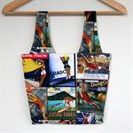 Linda Lunch / Shopping Bag - Vintage Travel Posters