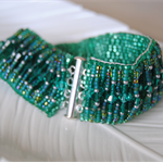Emerald Sea Bracelet - Ready to Ship